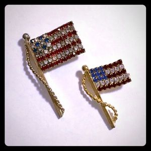 Jewelry - USA Flag Brooches
